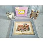 Kids Framed Print And Photo Frames (Qty: 4)