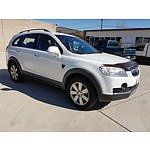 2/2010 Holden Captiva LX (4x4) CG MY10 4d Wagon White 3.2L