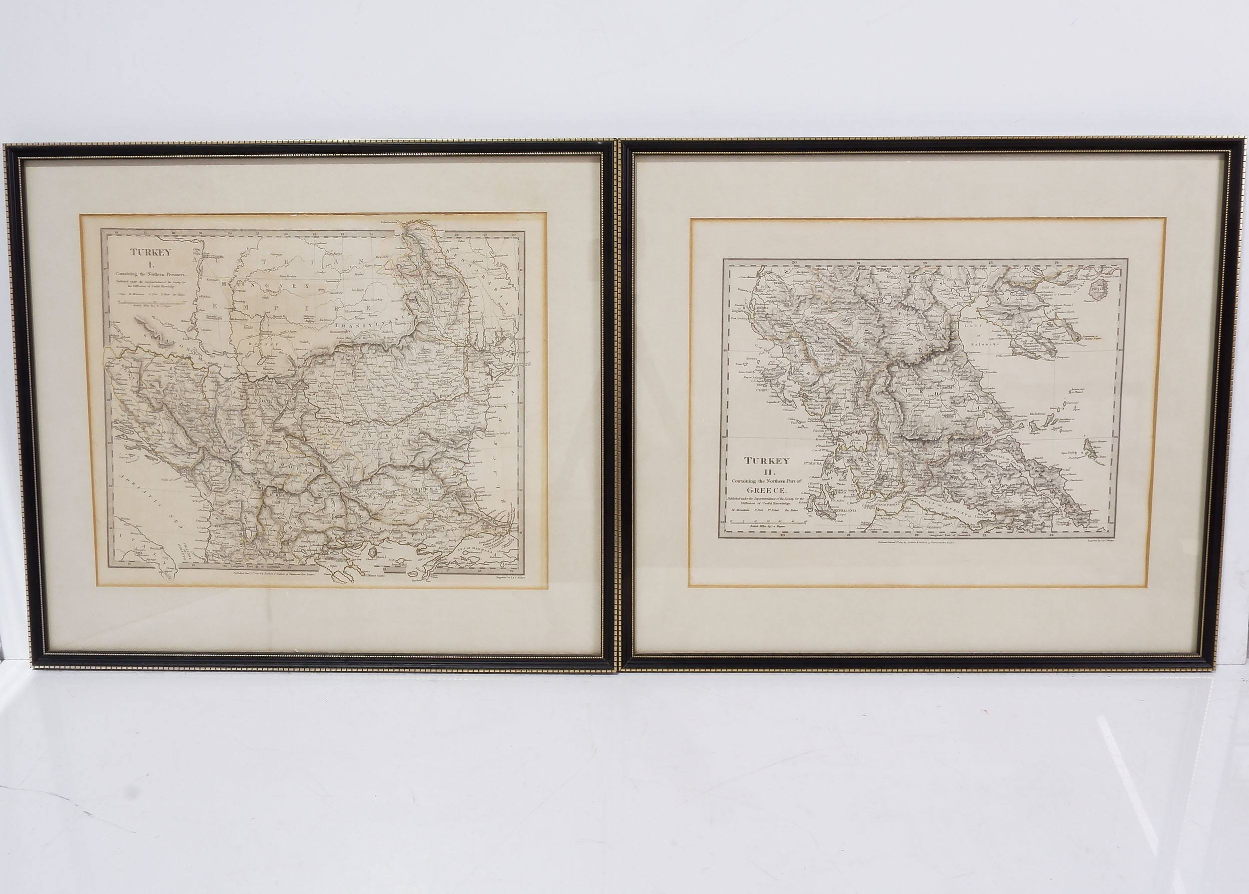 'Two Antiquarian Maps of Turkey'