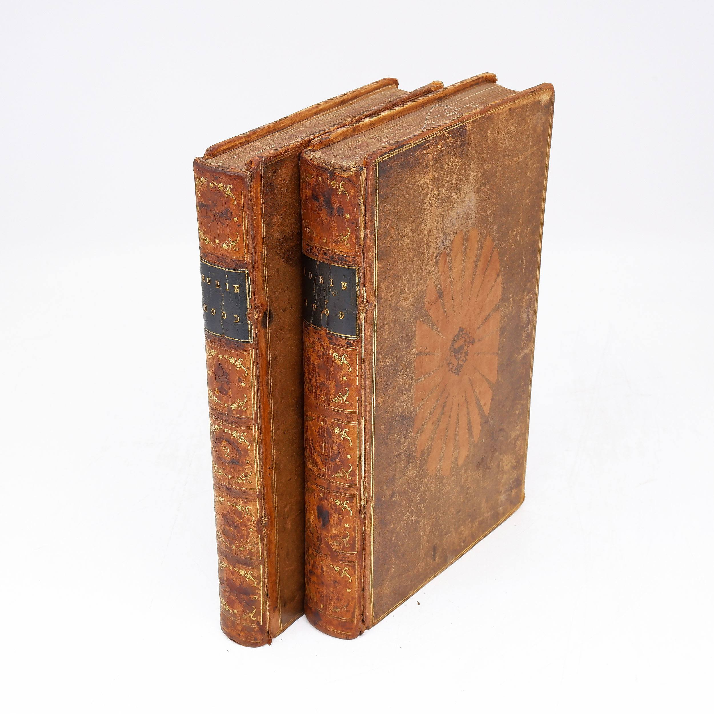 'Two Volumes of Robin Hood, London, 1795'