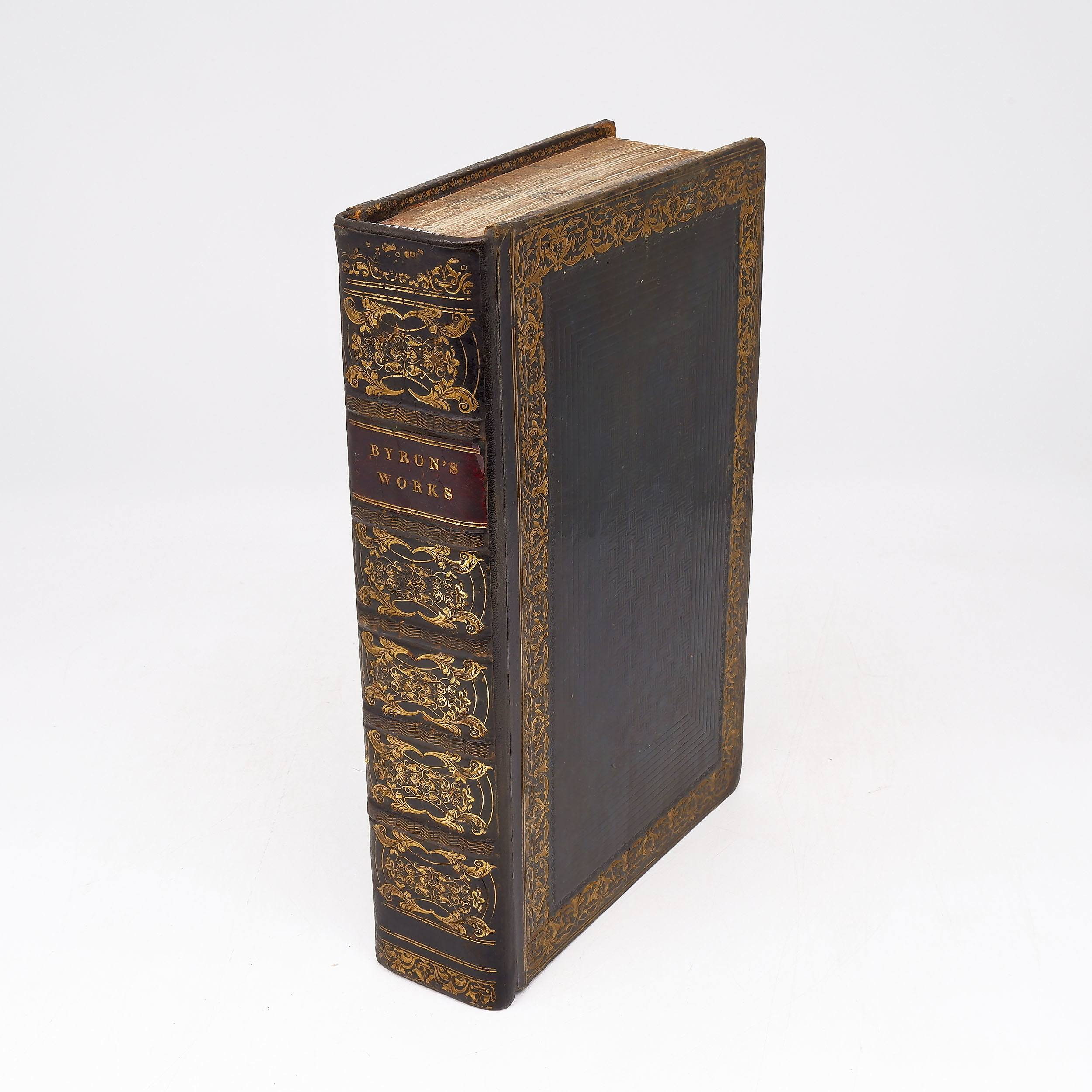 'The Works of Lord Byron, Published by A and W Galignani, Paris 1827'