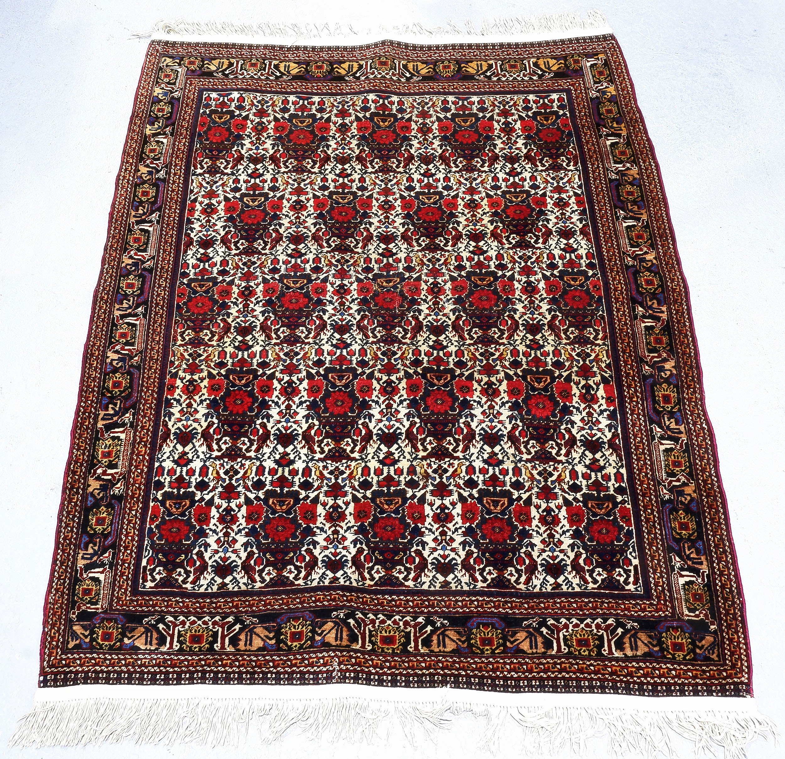 'Persian Hand Knotted Wool Pile Rug'