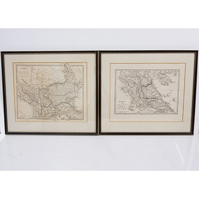 Two Antiquarian Maps of Turkey