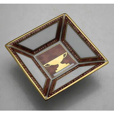 Boxed Richard Ginori Porcelain Dish