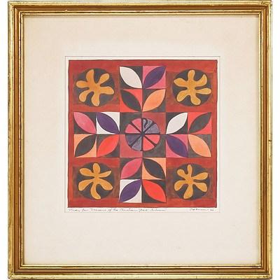 John Coburn (1925-2006) Seasons of the Christian Year - Autumn, Watercolour