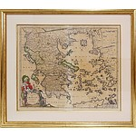 Antiquarian Map of Greece