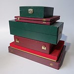 Group of Display Boxes, Bags and Silver Cleaning Cloths