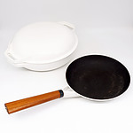 Waterford Colorcast Enamelled Cast Iron Pan and Casserole Dish