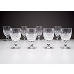 8 Waterford Crystal Port Glasses