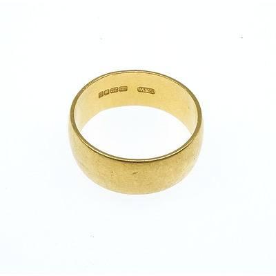22ct Yellow Gold Wedding Ring