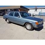 1/1978 Mercedes-Benz 450SE  4d Sedan Grey 4.5L