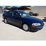 9/2002 Volvo S40 2.0 MY01 4d Sedan Blue 1.9L