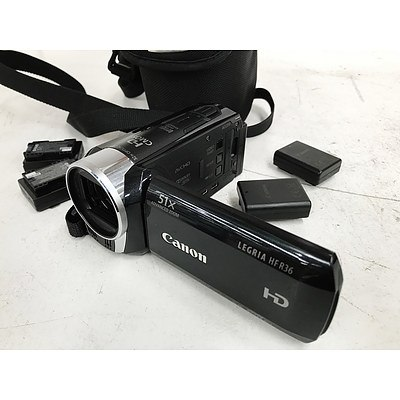 Canon Legria HFR36 FullHD Camcorder