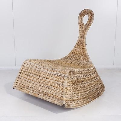 Ikea Wicker Rocking Chair