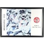 Melbourne 1956 Coca-Cola Framed Poster