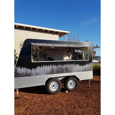 Coffee Caravan 2010 Custom Made Food/Beverage Trailer