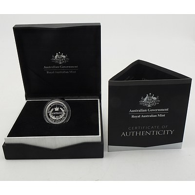 2016 $1 Australia's First Mints C Mintmark Fine Silver Proof Coin