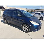 9/2000 Toyota Tarago Ultima ACR30R 4d Wagon Blue 2.4L