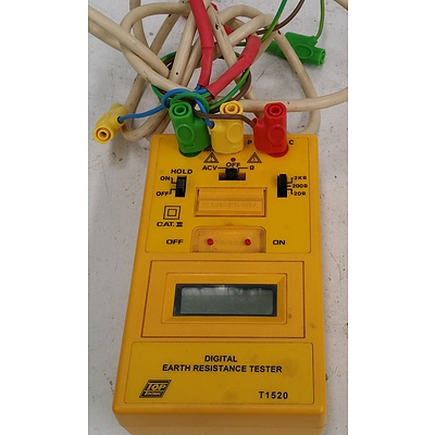 Toptronic T1520 Digital Earth Resistance Tester