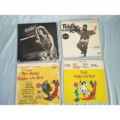 Records: Fiddler on the Roof x3 and Better Middler The Rose