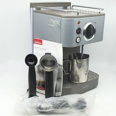 Sunbeam Cafe Espresso Machine