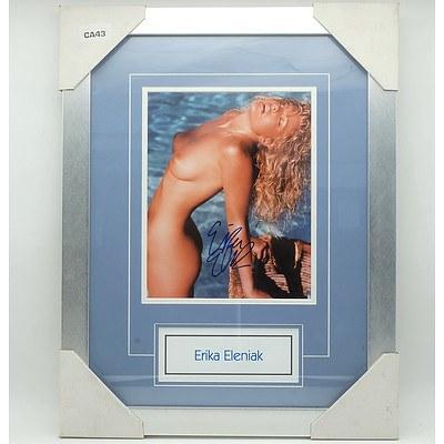 Erika Eleniak Signed Nude Photo