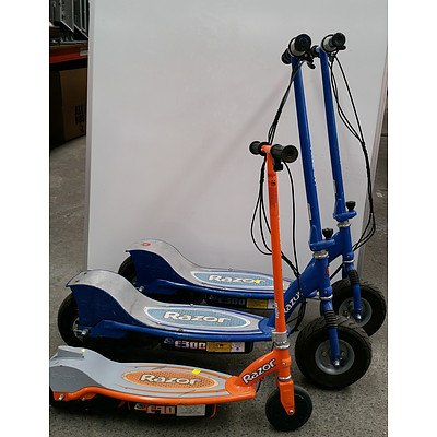 Razor Scooters - Lot of 3