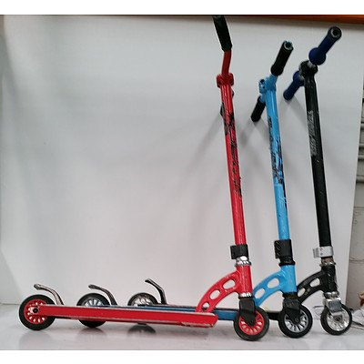 Kids  Scooters - Lot of 3