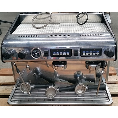 Expobar Two Group Head Espresso Coffee Machine