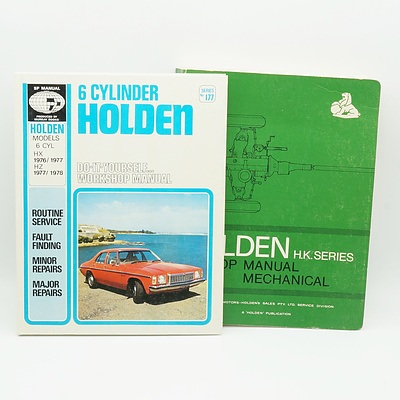 Holden H K Series Shop Manual Mechanical and Six Cylinder Holden Manual