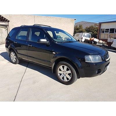 11/2008 Ford Territory SR2 (rwd) SY 4d Wagon Black 4.0L