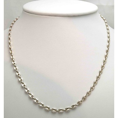 Sterling Silver Gucci Link Chain