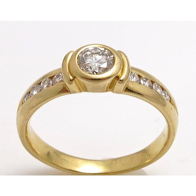 18ct Gold Diamond Ring - 1/2 Carat (TDW)