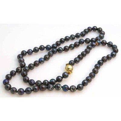 Queensland Boulder Opal Bead Necklace