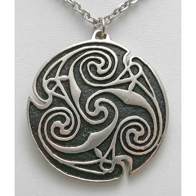 Pewter Celtic Pendant - large