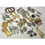 Collection of Dramatic & Different Fashion Earrings