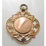 9ct Gold Fob Medallion