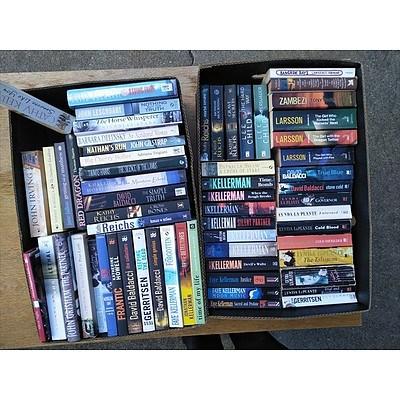 Fiction Novels (2 Boxes)