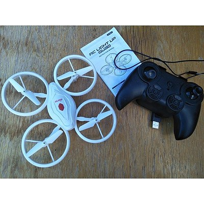 Remote Controlled Light Up Quad