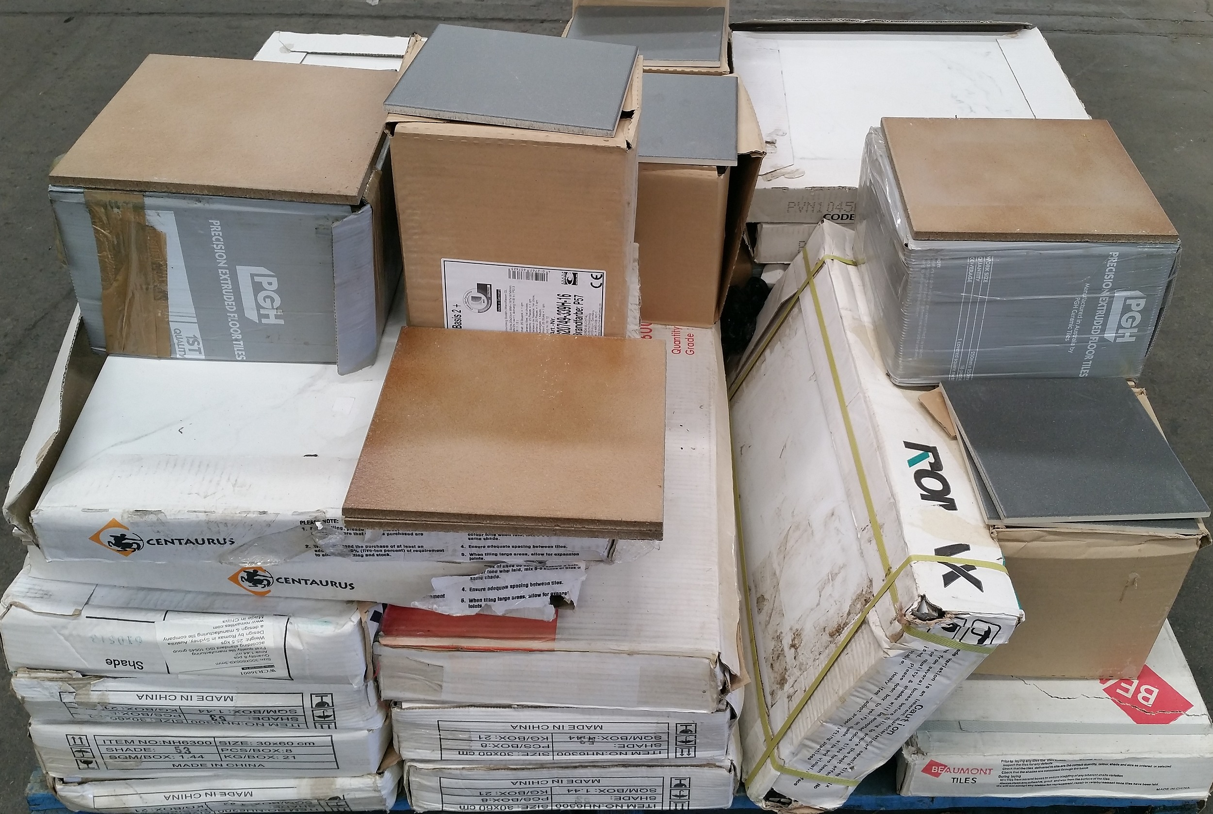 Selection of Wall and Floor Tiles - New