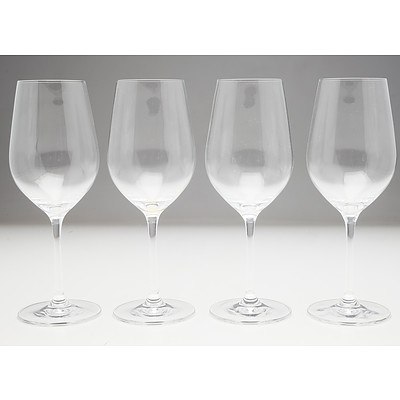 Four Wiltshire Bellissimo Crystal Chardonnay Glasses