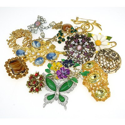 Group of Decorative Brooches