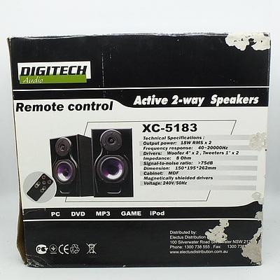 Digitech Active 2-way Speakers