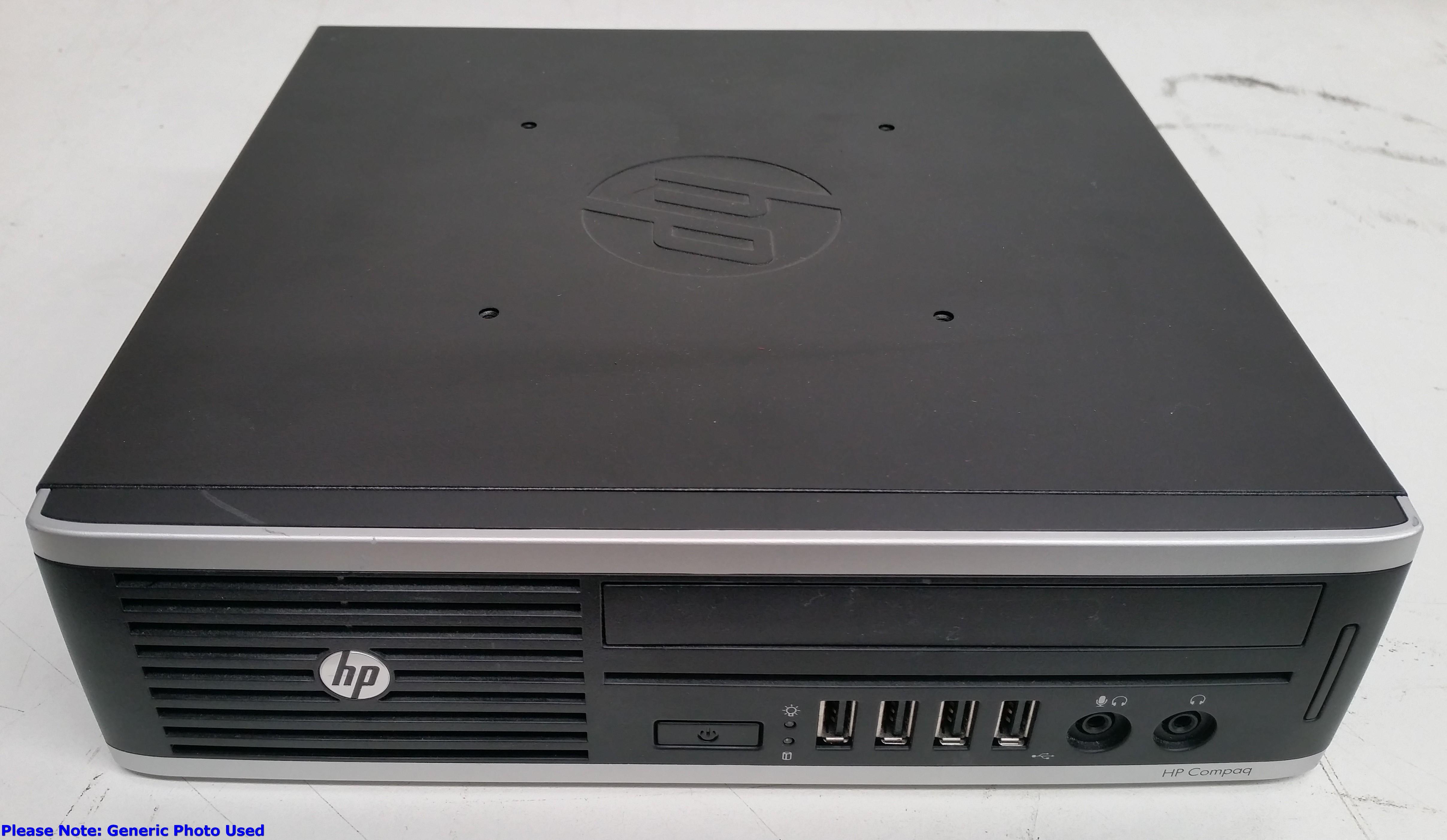 HP Compaq 8200 Elite Ultra-Slim Core i5 (2500S) 2 70GHz Desktop Computer