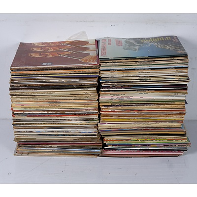 Large Group of Various Vinyl Records