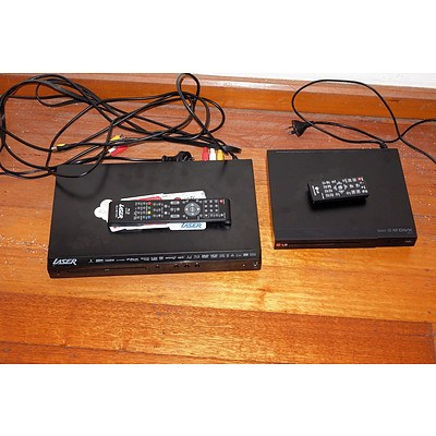 Laser and LG DVD Players