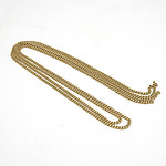 9ct Yellow Gold Foxtail Chain Without Ends 2g