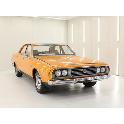 08/1973 Leyland P76 Super 4d Sedan Orange 4.4L V8