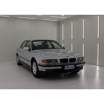 1/1999 Bmw 7 35iL E38 4d Sedan Silver 3.5L