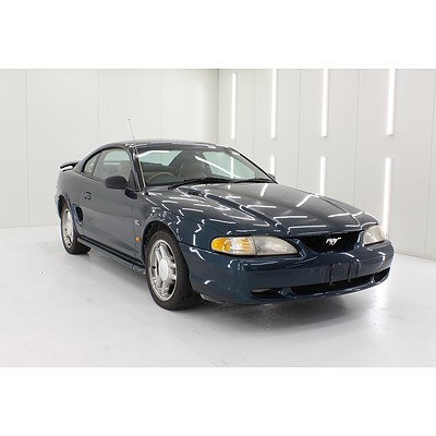 1/1994 Ford Mustang GT 2d Coupe Blue 5.0L